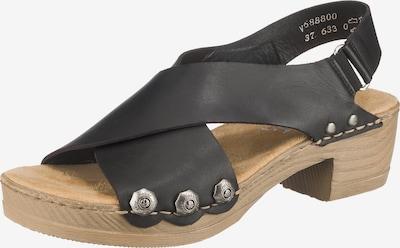 RIEKER Sandale in schwarz, Produktansicht
