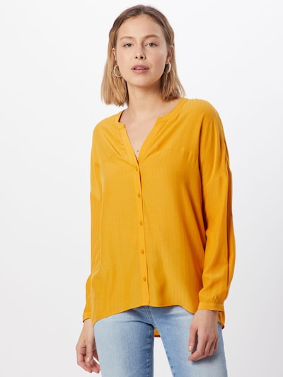 ABOUT YOU Blouse 'Doro' in de kleur Mosterd, Modelweergave