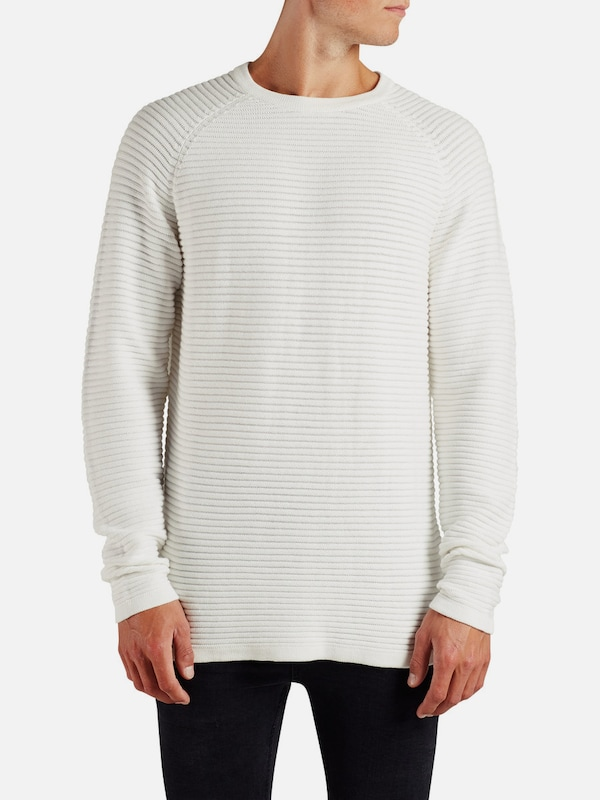 JACK & JONES Texturierter Strickpullover
