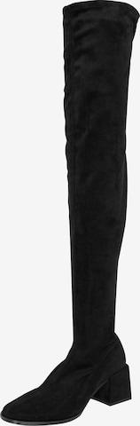 EDITED Overknees 'Brea' i svart
