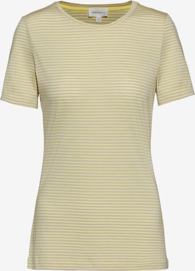 ARMEDANGELS T-Shirt 'Lidaa' in gelb / weiß, Produktansicht