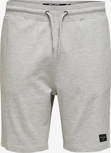 Only & Sons Pantalon en gris chiné, Vue avec produit