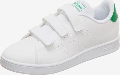 ADIDAS PERFORMANCE Sportschoen 'Advantage C' in de kleur Groen / Wit, Productweergave