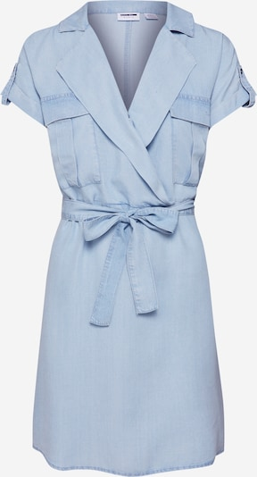 Noisy may Kleid 'NMVERA S/S ENDI' in blue denim: Frontalansicht