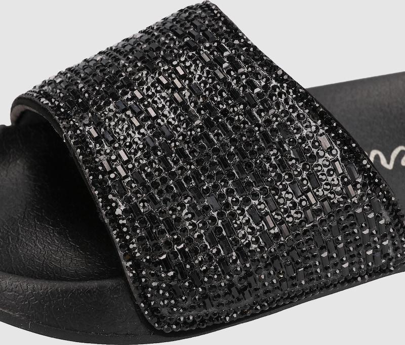 SKECHERS Pantoletten Rhinestone Verschleißfeste billige Schuhe
