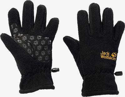 JACK WOLFSKIN Fleece Fingerhandschuhe für Mädchen in schwarz, Produktansicht
