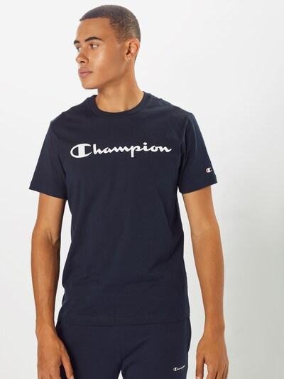 Champion Authentic Athletic Apparel Tričko - námornícka modrá / červená / biela: Pohľad spredu