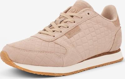 WODEN Sneakers ' Ydun Croco ' in beige, Produktansicht