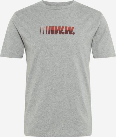 WOOD WOOD T-Shirt 'Split' en gris, Vue avec produit