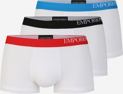 Emporio Armani Trunks in blau / rot / weiß, Produktansicht