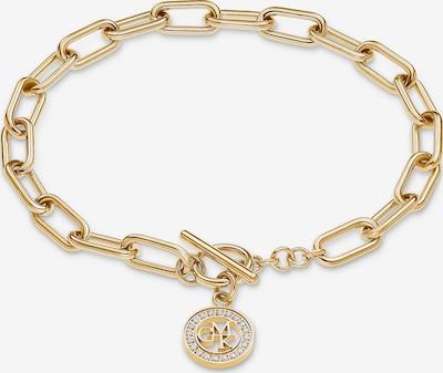 GMK Collection Armband in gold / weiß, Produktansicht