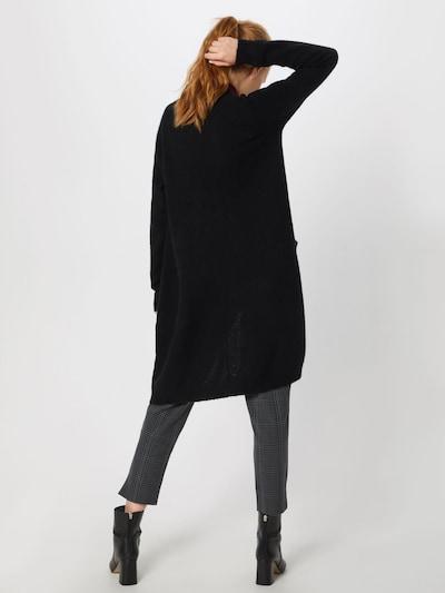 minimum Cardigan 'Kerstin' in schwarz: Rückansicht
