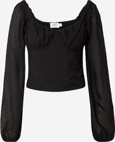 NA-KD Bluse in schwarz, Produktansicht