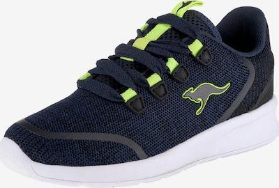 KangaROOS Sneakers 'Kf Lock' in kobaltblau / kiwi, Produktansicht