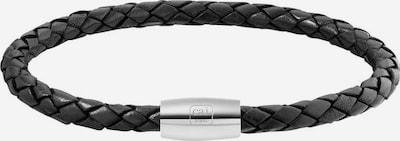 caï Armband in schwarz / silber, Produktansicht