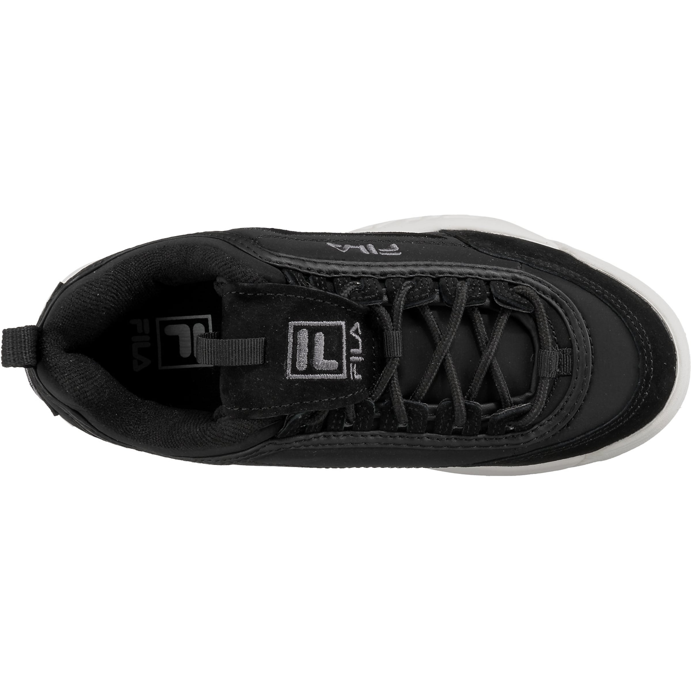 Low Schwarz Sneakers 'disruptor' Fila In rdCQxoeWB