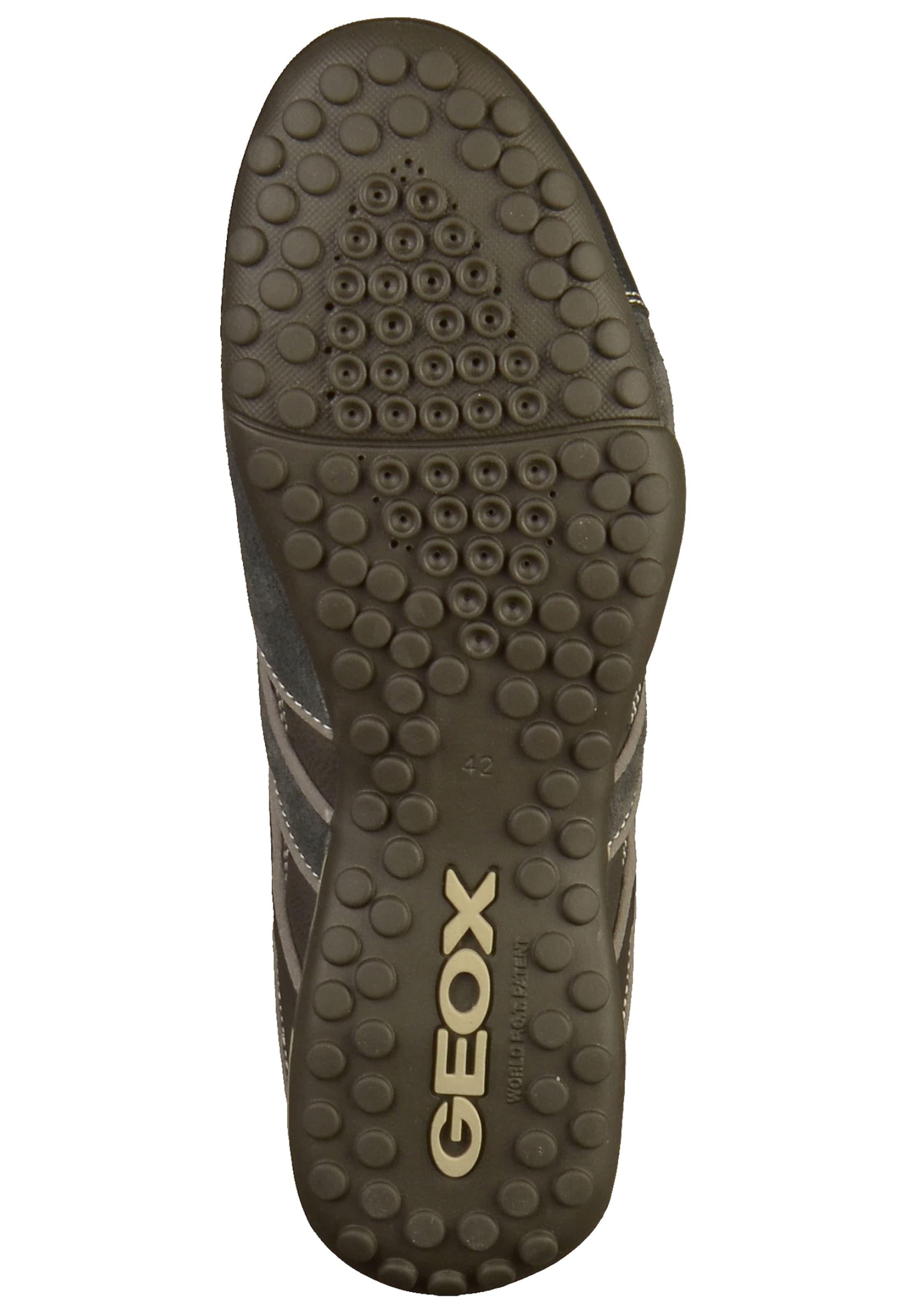 Geox 'uomo GrauGreige Snake' Dunkelgrau In Sneaker 8kn0NOwZPX