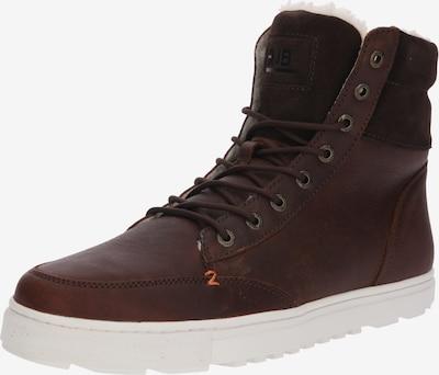 HUB High-Top Sneaker 'Dublin L30 Merlins' in kastanienbraun, Produktansicht