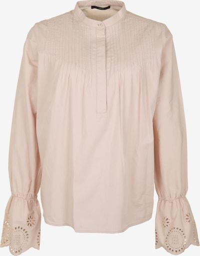 SET Bluse mit Lochstickerei in pastellpink: Frontalansicht