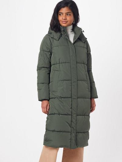 mbym Zimní kabát 'Ela Slit' - khaki, Model/ka