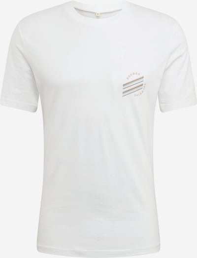Degree Shirt 'Yachting' in de kleur Wit, Productweergave
