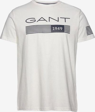 GANT T-Shirt in blau / weiß, Produktansicht