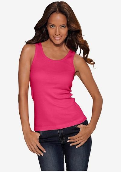 PETITE FLEUR Undershirt in Turquoise / Purple / Pink / Black / White: Frontal view