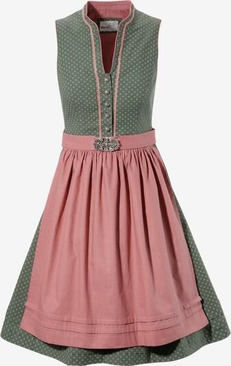 MARJO Dirndl in pastellgrün / rosa, Produktansicht