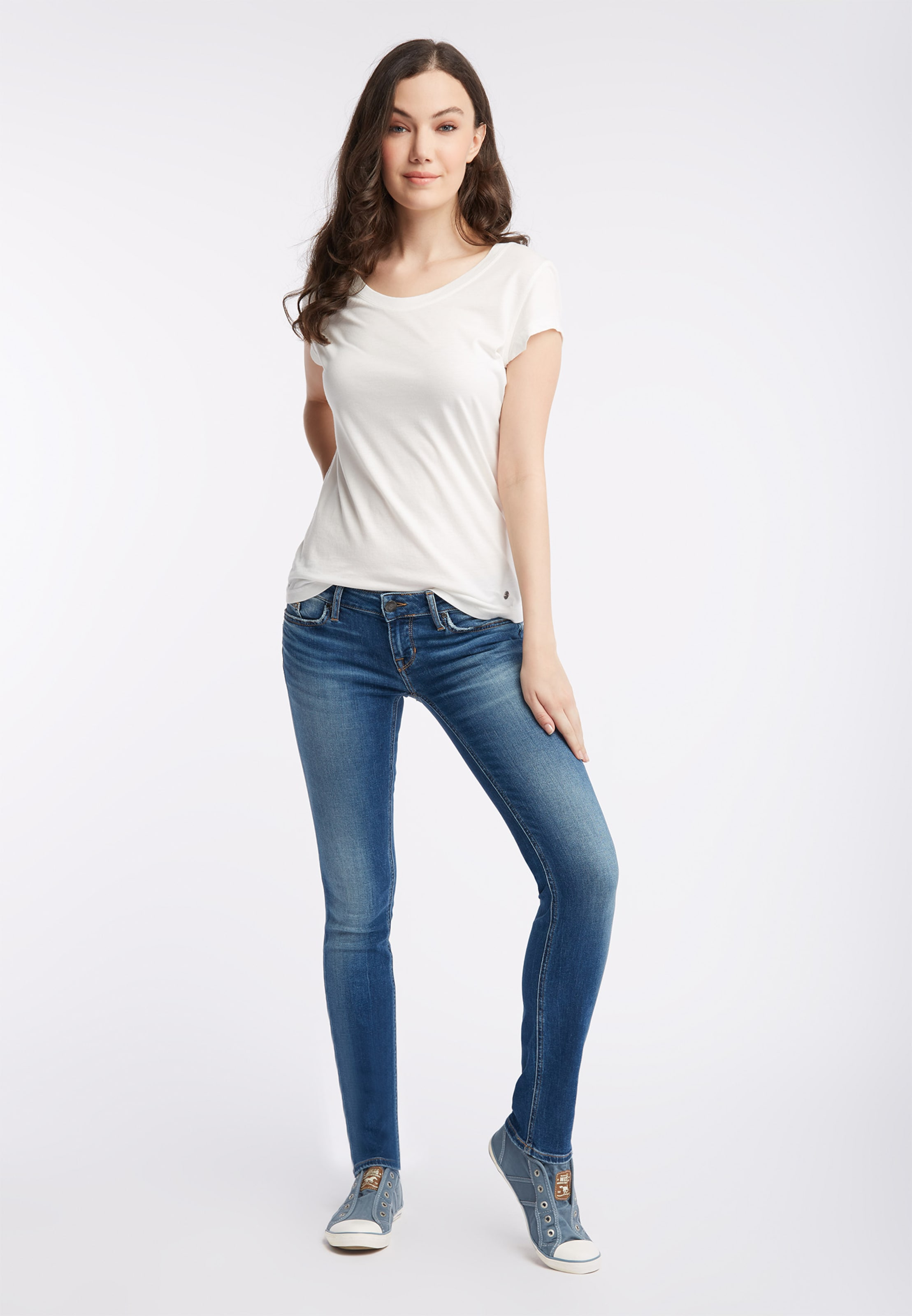 In Blue Mustang Hose Gina' Denim nwk80OPX