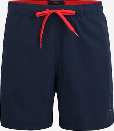 Tommy Hilfiger Underwear Badeshorts in dunkelblau / rot, Produktansicht
