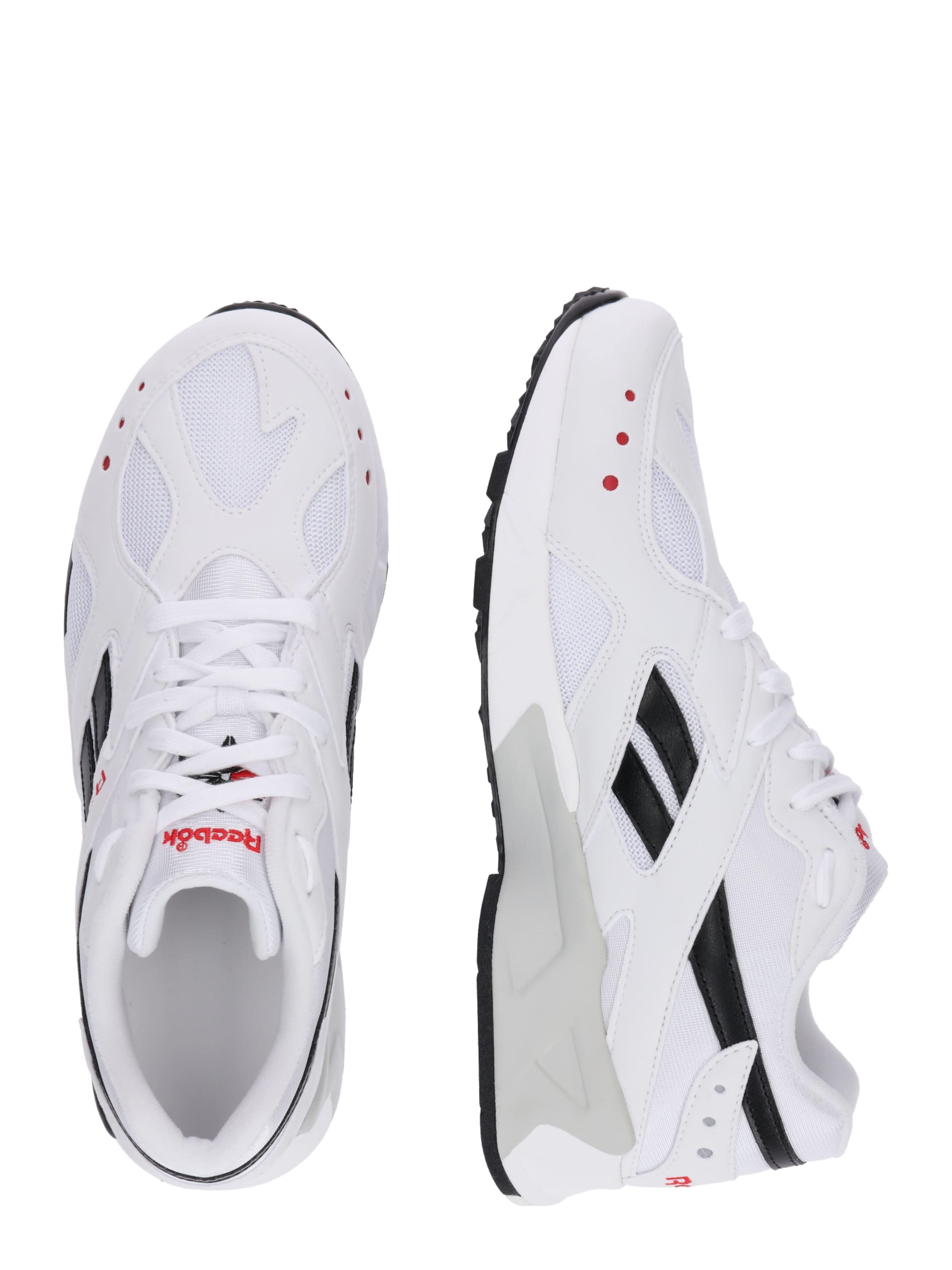 Reebok Weiß Sneaker 'aztrek' In RotSchwarz Classic kiTOXZuwP