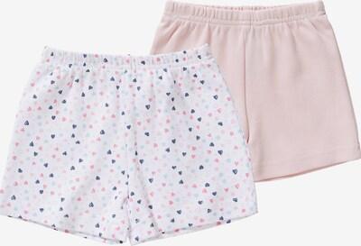 Boley Shorts in hellblau / rosa / weiß, Produktansicht
