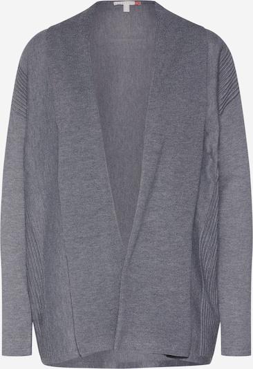 ESPRIT Strickjacke  'shawl cardi' in anthrazit, Produktansicht