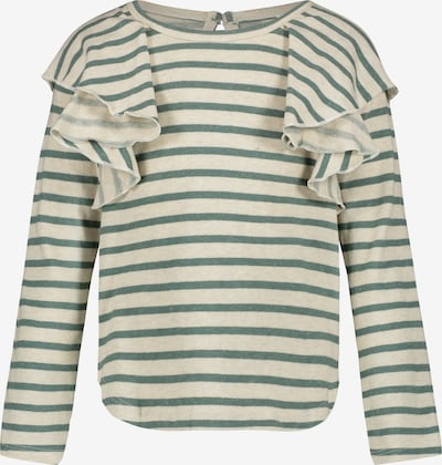 Noppies T-Shirt 'Casai' en vert / blanc cassé: Vue de face
