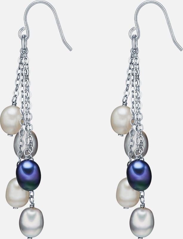 Valero Pearls Silberohrhänger mit Süßwasser-Zuchtperlen