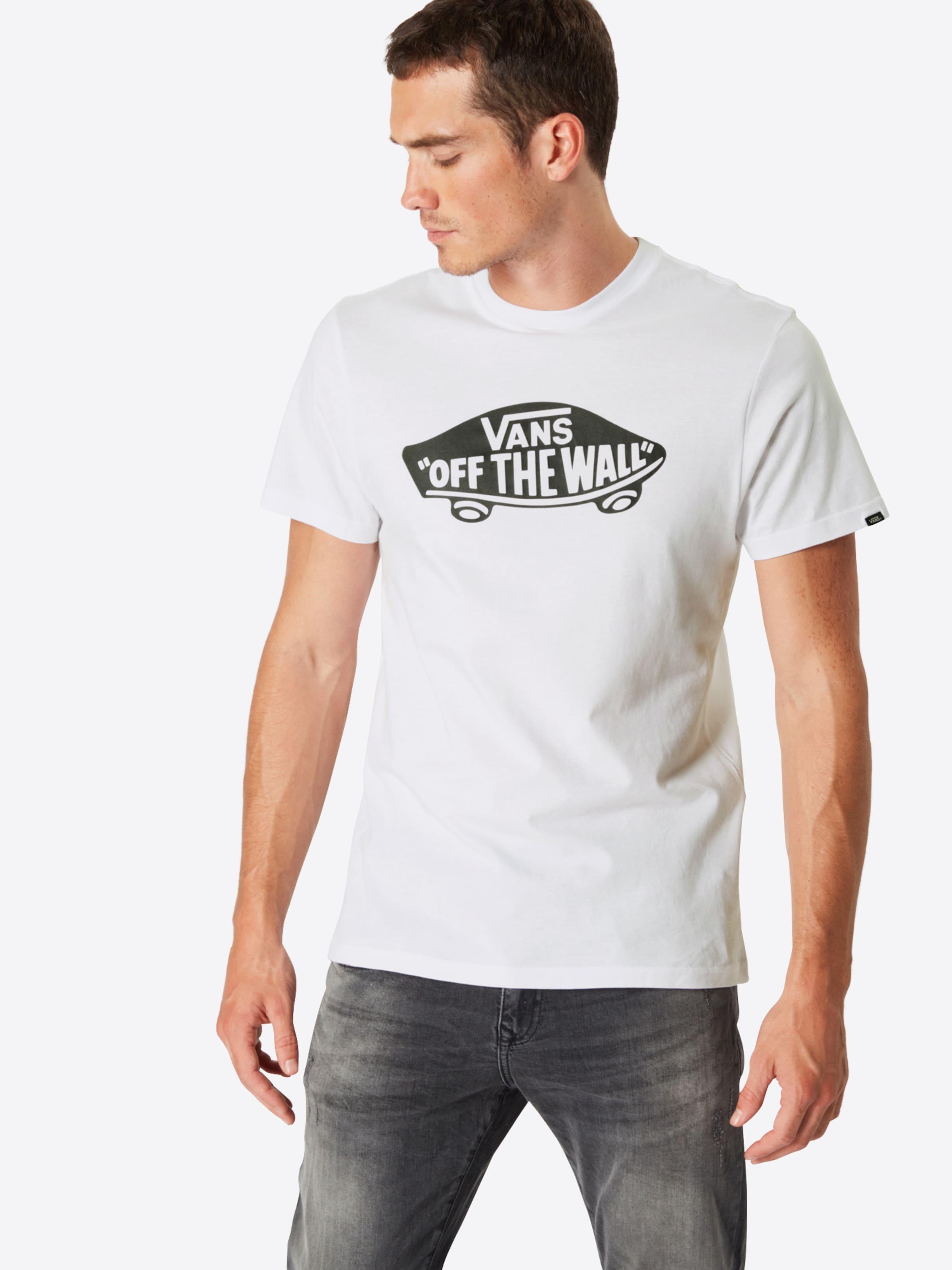 Otw' shirt In 'vans Vans T AnthrazitWeiß VUzMSp