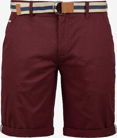 !Solid Chinoshorts 'Monty' in rot, Produktansicht