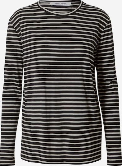 Samsoe Samsoe Camiseta 'Nobil' en negro / blanco, Vista del producto