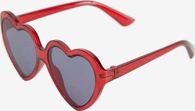 MANGO KIDS Sonnenbrille 'Heart' in graumeliert / rot, Produktansicht