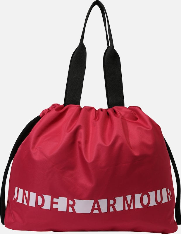 UNDER ARMOUR Sport-Tasche 'Favorite Graphic' in beere / schwarz / weiß, Produktansicht