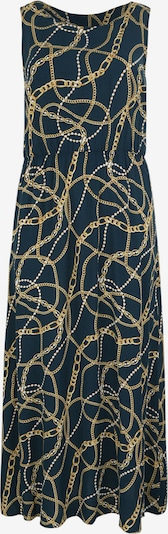 ONLY Carmakoma Dress 'ELLA' in Night blue / Gold, Item view