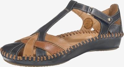PIKOLINOS Sandale 'Puerto Vallarta' in nachtblau / braun / hellbraun, Produktansicht