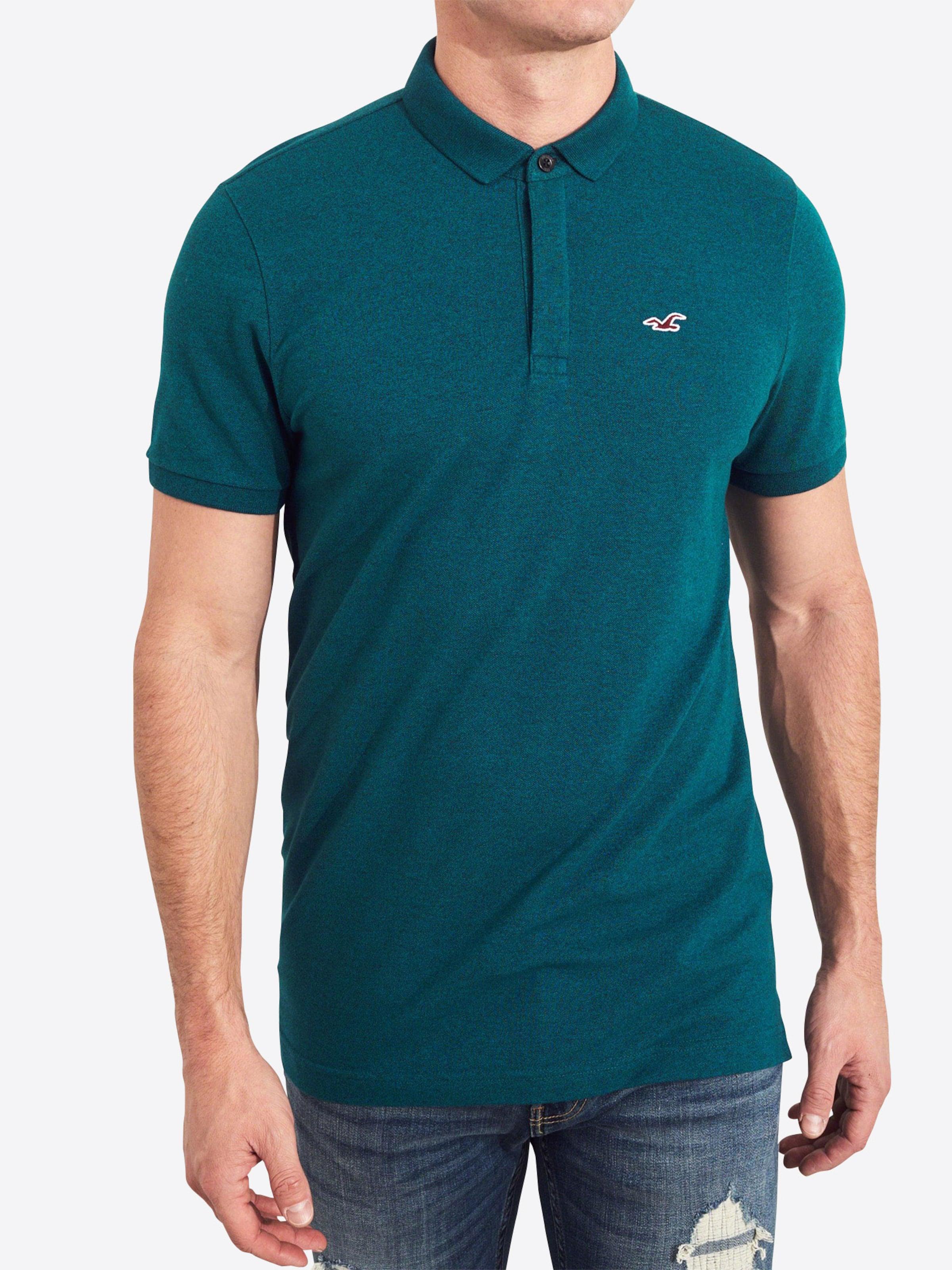 En Hollister shirt Hollister T T En shirt BleuPétrole TlKFc31J