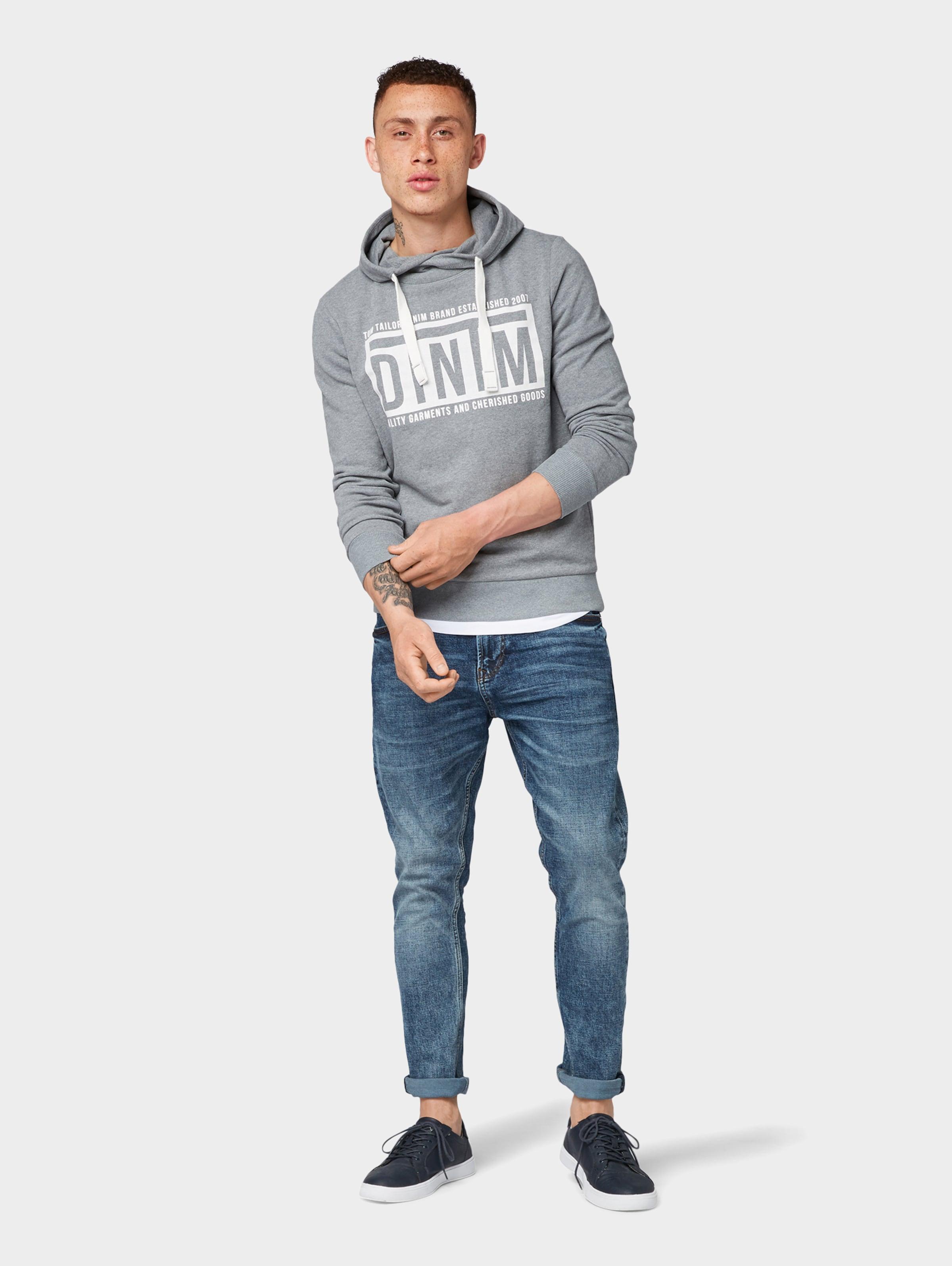 GrauWeiß Denim Tailor Sweatshirt In Tom WEDIHYe29b