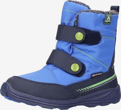 Kamik Stiefel in blau / dunkelblau / hellgrün, Produktansicht