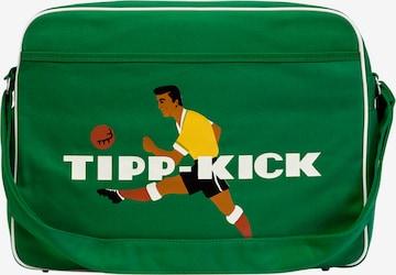 LOGOSHIRT Crossbody Bag 'Tipp Kick' in Green