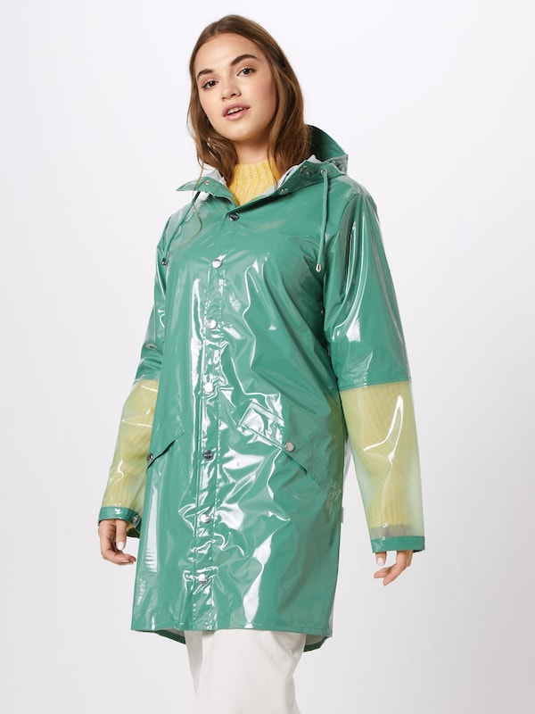 Jacket' Vert En Rains Long Mi saison Manteau 'ltd 7y6YvIbfg