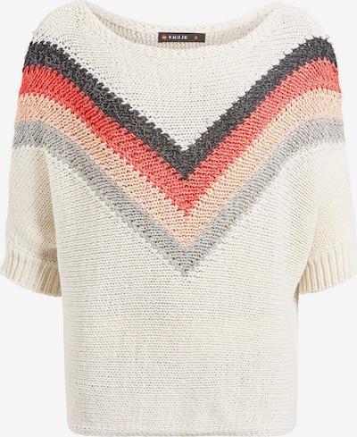 khujo Pullover ' JAYSE ' in mischfarben / weiß, Produktansicht