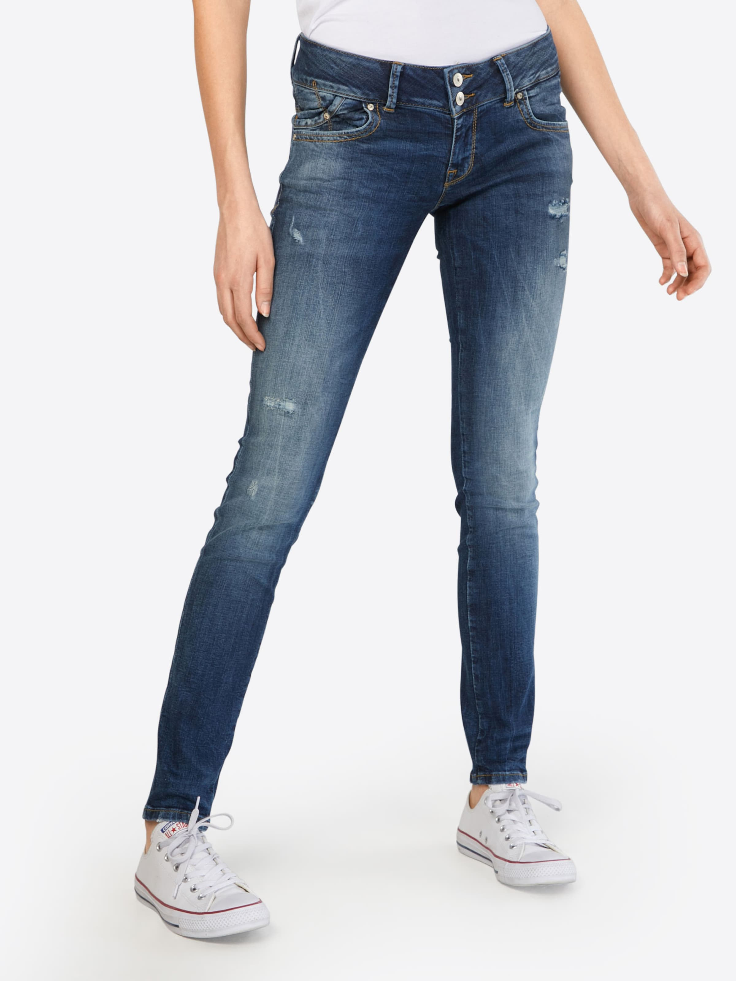 Jeans Ltb Denim Stretchige In Blue Skinny 'molly' 0Pnkw8O