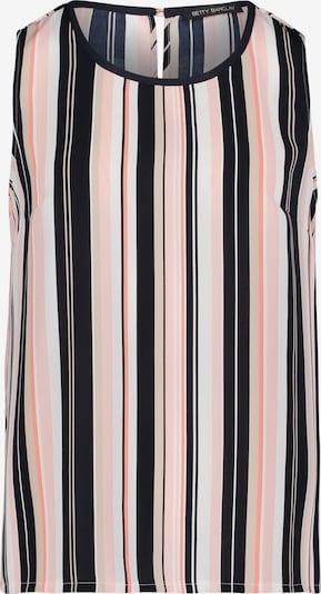 Betty Barclay Blusentop mit Streifen in beige / dunkelblau / weiß, Produktansicht